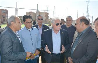 محافظ جنوب سيناء يتفقد مشروعات خدمية بطور سيناء | صور