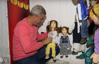 فنان فلسطيني يجسد قضايا الإنسان الفلسطيني بعرائس الماريونيت | فيديو