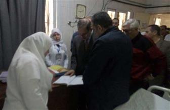 محافظ كفر الشيخ يتفقد مستشفى دسوق العام | صور