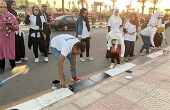 انطلاق مبادرة مهرجان ألوان لتجميل شوارع وميادين شرم الشيخ | صور