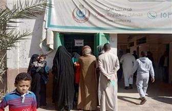 الكشف على 630 مريضا في قافلة طبية بقرية أولاد يحيى قبلي بسوهاج | صور