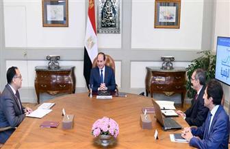 الرئيس السيسي يستعرض الموقف التنفيذي للمشروعات القومية الخاصة بقطاع الاتصالات وتكنولوجيا المعلومات| فيديو
