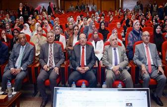 افتتاح المنتدى السنوي الأول لمناهضة العنف ضد المرأة في جامعة طنطا | صور