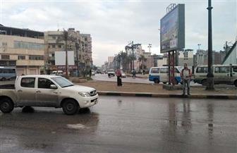 أمطار على محافظة دمياط.. ورفع حالة التأهب القصوى| صور