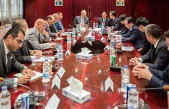 وفد صيني من حكومة تيانجين يزور الهيئة الاقتصادية لقناة السويس لمتابعة أعمال توسعة تيدا
