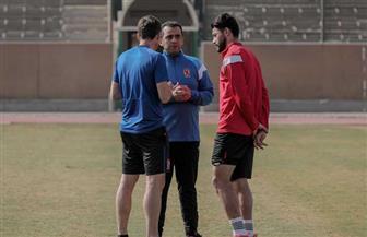 جلسة خاصة لفايلر مع ياسر إبراهيم بمران الأهلي