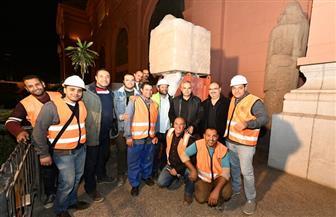 المتحف المصري الكبير يستقبل 309 قطع أثرية تنتمي إلى عصور مختلفة | صور