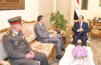الرئيس السيسي يستقبل وزير دفاع جمهورية الجبل الأسود