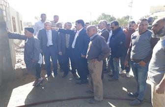 لجنة للتحقيق في حريق مخزن للكتب بإدارة يوسف الصديق التعليمية | صور