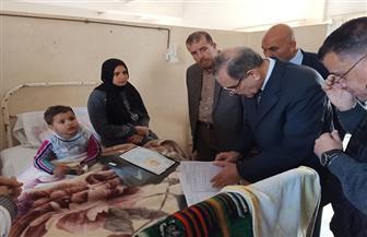 محافظ كفرالشيخ يتفقد مستشفى الصدر ليطمئن على مستوى الخدمات الطبية المقدمة للمرض|صور