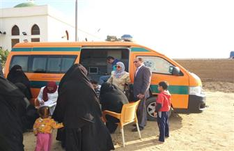 قافلة طبية تزور تجمعات أهالي رفح والشيخ زويد بالشرقية والإسماعيلية | صور