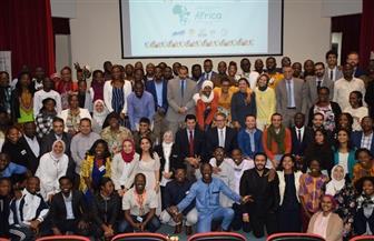 وزيرا الشباب والآثار يلتقيان المشاركين في برنامج متطوعي الاتحاد الإفريقي   صور