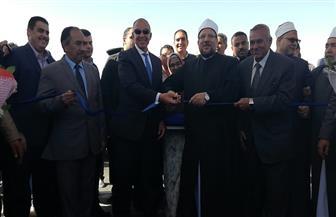 وزير الأوقاف يفتتح المرحلة الأولى من مدينة الحرفيين في الغردقة | صور