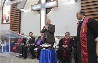 تنصيب القس نبيل وديع إبراهيم راعيا للكنيسة الإنجيلية بسوهاج |صور