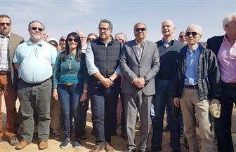 وزير الآثار: اعتدنا على افتتاح كشف أثري بمحافظة المنيا كل عام |صور