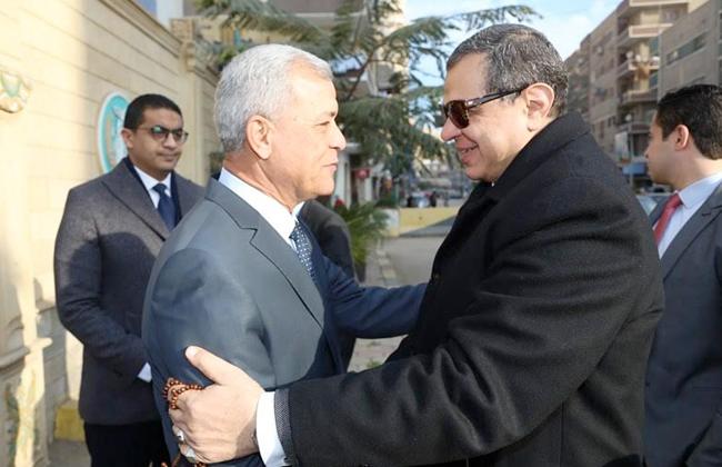 محافظ المنوفية يستقبل وزير القوى العاملة لافتتاح ملتقى التوظيف   صور -