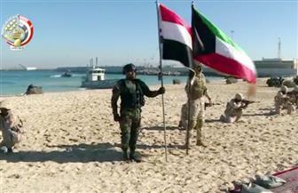 """اختتام """"الصباح 1"""" و""""اليرموك 4"""" بتدريب عملي على اقتحام جزيرة والقضاء على بؤرة إرهابية مسلحة"""
