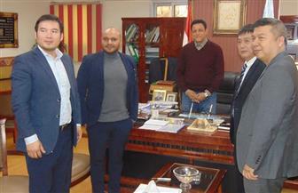 نائب محافظ القاهرة يلتقي رئيس جمعية المستثمرين الصينيين لإقامة مشروعات | صور