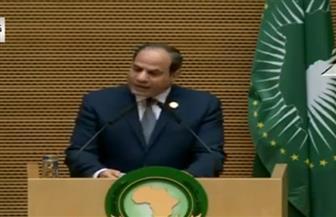 الرئيس السيسي لقادة إفريقيا: نعي حجم المسئولية الكبيرة التي عهدتم بها إلى مصر