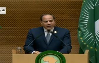 الرئيس السيسي يؤكد ضرورة دحر الأفكار المتطرفة ومكافحتها لمنع تفشي الإرهاب