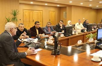 """رئيس جامعة المنصورة يناقش استعدادات اللجنة العليا لمهرجان """"800 سنة منصورة"""""""