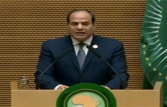 الرئيس السيسي: أسلافنا امتلكوا حكمة الوحدة.. ومنهم نستمد الشجاعة