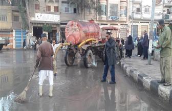 تعرض كفر الشيخ لأمطار غزيرة.. وغرق الشوارع وتوقف عمليات الصيد بالمحافظة | صور