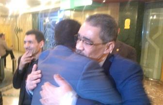 وصول ضياء رشوان إلى نقابة الصحفيين لتقديم أوراق ترشحه نقيبا