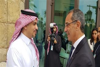 طلعت يلتقي نائب وزير الاتصالات السعودي لبحث آليات التعاون بين البلدين