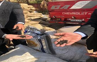 ضبط ٨ أطنان توابل فاسدة بمصنع بدون ترخيص في الفيوم|صور