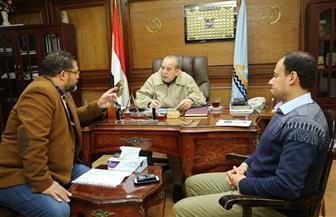 محافظ كفرالشيخ يناقش خطة تنفيذ مشروعات الغاز الطبيعى وتوصيله للمنازل| صور
