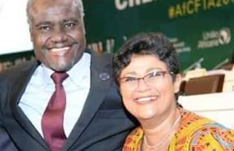 رئيس مفوضية الاتحاد الإفريقي يشكر مكتب المستشار القانونى لمرافاعاته الناجحة بالمحاكم الدولية