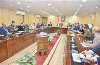 محافظ أسيوط يلتقي أعضاء مجلس النواب لحل مشكلات المواطنين بقطاعي الزراعة والري | صور