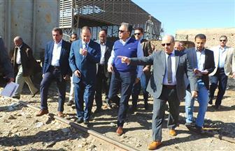 وزير النقل من أسوان: محطة السد العالي نجحت في نقل 251 حاوية | صور