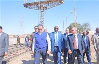 وزير النقل السوداني: نرغب في تحول أسوان لمنطقة لوجيستية من خلال دعم العلاقات المشتركة | صور