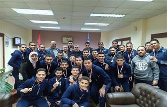 الغربية تكرم منتخب الصم بعد تأهله لنهائيات دوري مراكز الشباب لكرة القدم | صور