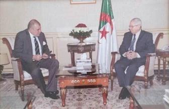 السفير مشرفة يلتقي رئيس مجلس الأمة الجزائري ويسلم رسالة عبد العال