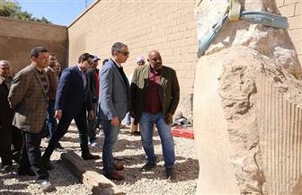 تفاصيل مشروع ترميم تمثال رمسيس الثاني بأخميم في سوهاج