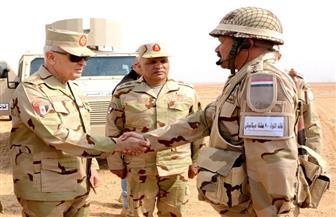 """رئيس الأركان : نجاح المناورة """" بدر 2019 """" يؤكد قدرة رجال القوات المسلحة على الدفاع عن أمن مصر القومى"""