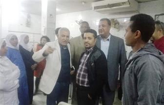 غيابات بالجملة بمستشفى إسنا بالأقصر ووحدة الغسيل الكلوي ورئيس المدينة يحيلهم للتحقيق | صور