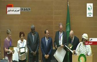 الرئيس السيسي يشهد توزيع جوائز الزعيم نكروما للتميز العلمي.. وتكريم المرأة بقمة الاتحاد الإفريقي