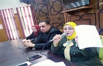 اجتماع بمديرية تعليم كفرالشيخ لمتابعة توزيع التابلت