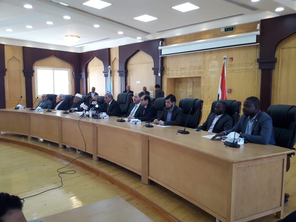 تفاصيل الفعاليات المقرر عقدها بالتعاون بين جامعة الأزهر واتحاد الجامعات الإفريقية -
