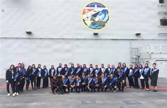 انطلاق الفوج الأول من طلاب جامعتي الإسكندرية ومطروح لزيارة القاعدة البحرية | صور