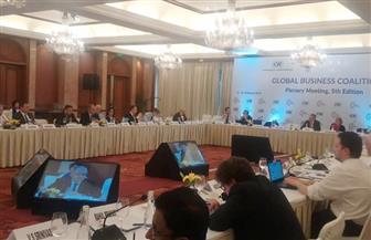 """مصر تشارك في اجتماع """"تحالف الأعمال العالمي"""" بالهند"""