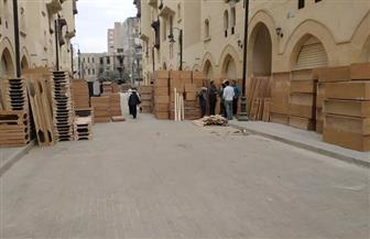 """ننشر فيديو فرش وحدات مشروع """"روضة السيدة زينب"""" استعدادا لإعادة نقل سكانها"""