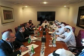 طلعت يلتقي مدير عام هيئة تنظيم الاتصالات بالإمارات العربية المتحدة