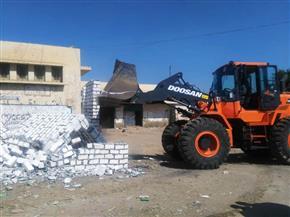 إزالة 36 حالة تعد على أملاك الدولة والأراضي الزراعية في سوهاج