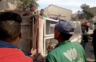 حملة على ميادين وسط القاهرة لرفع الإشغالات| صور