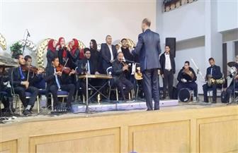 موسيقى عربية وأفلام سينمائية بثقافة المنيا| صور